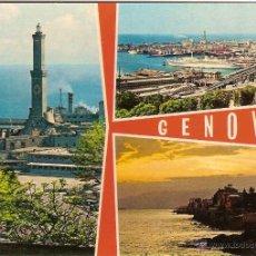 Postales: GÉNOVA (ITALIA), VARIAS VISTAS - ED. F. CALI Nº 799 - SIN CIRCULAR. Lote 45267364