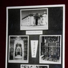 Postales: ANTIGUA POSTAL DE COIMBRA. PORTUGAL. BIBLIOTECA DE LA UNIVERSIDAD. ED. TABACARIA NILO. SIN CIRCULAR. Lote 45343204