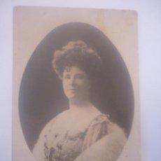 Postales: FOTO POSTAL DE LA CANTANTE AUSTRALIANA ADA CROSSLEY. Lote 45427278