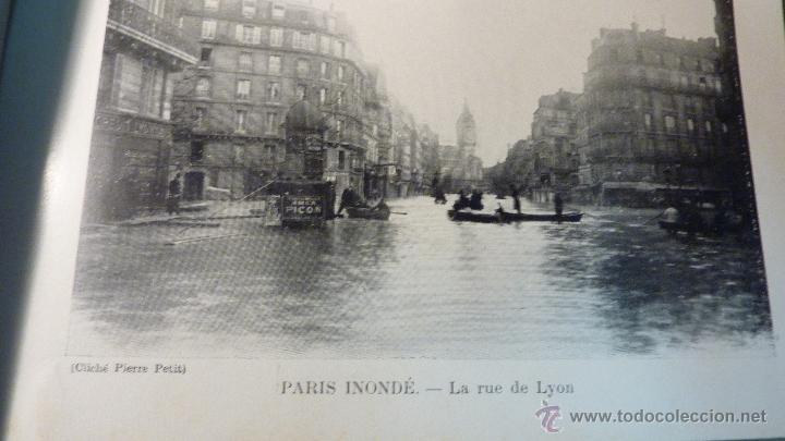 Postales: Librito album 20 fotos foto Paris inundaciones 1910 Paris Inonde 18 / 24 - Foto 2 - 45456061