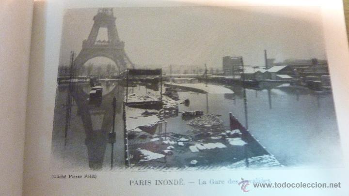 Postales: Librito album 20 fotos foto Paris inundaciones 1910 Paris Inonde 18 / 24 - Foto 3 - 45456061