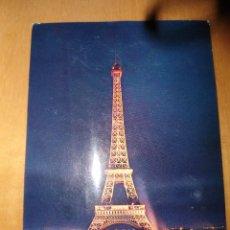 Postales: PARIS ET SES MERVEILLES-LA TOUR EIFFEL. Lote 45551348