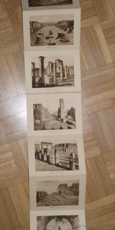Postales: 36 Postales Pompeya ppios siglo XX - Foto 3 - 45560793