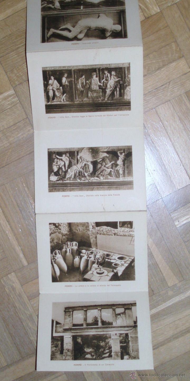 Postales: 36 Postales Pompeya ppios siglo XX - Foto 4 - 45560793