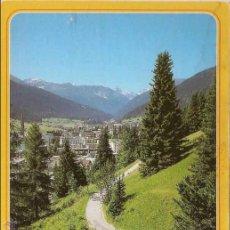 Postais: DAVOS, GRISONS (SUIZA), SENDERISMO A TINZENHORN - STEFAN REISS Nº 698 - CIRCULADA. Lote 45591691