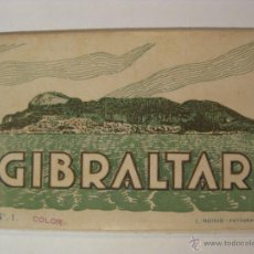 Postales: ALBUM COLOR Nº1 COLOR - GIBRALTAR - L. ROISIN. Lote 45758997