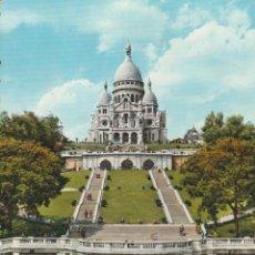 Postales: Nº 14024 PARIS SACRE COEUR ET SQUARE ST PIERRE FRANCIA. Lote 45797257
