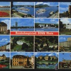 Postales: A-0649- BUNDESHAUPTSTADT BONN / RHEIN. Lote 45821738