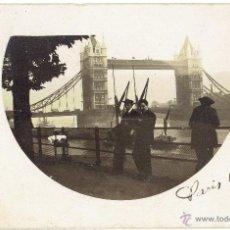 Postales: PS5030 LONDRES 'TOWER BRIDGE'. POSTAL FOTOGRÁFICA. CIRCULADA EN 1915. Lote 45922497