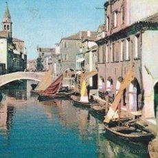 Postales: Nº 14919 POSTAL VENECIA CHIOGGIA CANAL VENA ITALIA. Lote 45939557