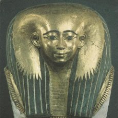 Postales: Nº 14743 POSTAL THE BRITISH MUSEUM EGYPTIAN FUNERARY MASK. Lote 45953342