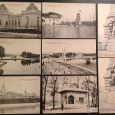 Postales: EXPOSITION UNIVERSELLE, LIEGE 1905. 8 POSTALES. . Lote 46126317