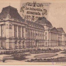 Postales: POSTAL - BELGICA - BRUSELAS - PALAIS DU ROI - ALBERT TIMMERMANS EDIT - NO CIRCULADA . Lote 46139040