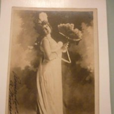 Postales: FRANCESA, CIRCULADA 1903. ARTISTA DEBERRY. FOTO REUTLINGER.PARÍS. Lote 46194179