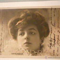Postales: FRANCESA, CIRCULADA 1905. ARTISTA MARTHE REGNIER . FOTO REUTLINGER.PARÍS. Lote 46194231