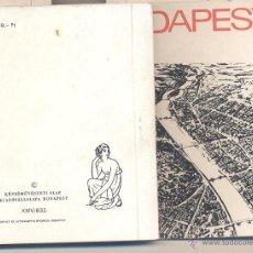 Postales: CARTERITA CON VISTAS DE BUDAPEST. Lote 46380021