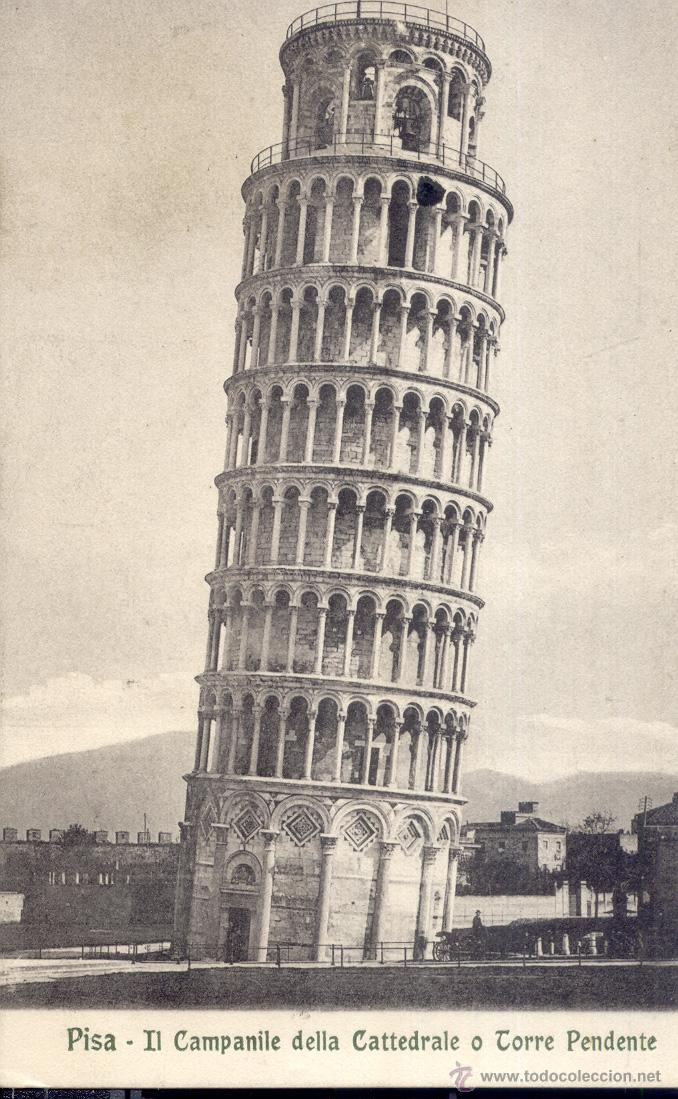 Italia Pisa Torre Inclinada De Pisa Postal Ant Sold Through Direct