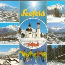 Postais: SEEFELD, TIROL (AUSTRIA), VARIAS VISTAS - CHIZZALI Nº 72602 - CIRCULADA SIN SELLO. Lote 46479251