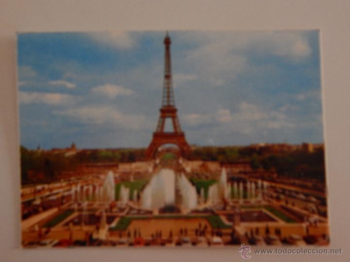 Paris La Tour Eiffel Les Jardins Du Palais De Comprar Postales