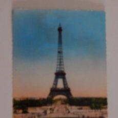 Postales: PARIS: LA TOUR EIFFEL VUE DU PALAIS DE CHAILLOT. Lote 46511620