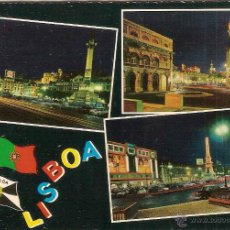 Postales: LISBOA (PORTUGAL), DIVERSOS ASPECTOS - Nº 755/73 - CIRCULADA. Lote 46523586