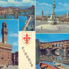 Postales: ITALIA FIRENZE VISTAS VARIAS POSTAL NO CIRCULADA. . Lote 46587152
