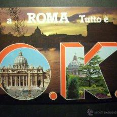 Postales: 8452 ITALIA ITALY LAZIO ROMA ROME POSTCARD POSTAL AÑOS 60/70 - TENGO MAS POSTALES. Lote 46611049