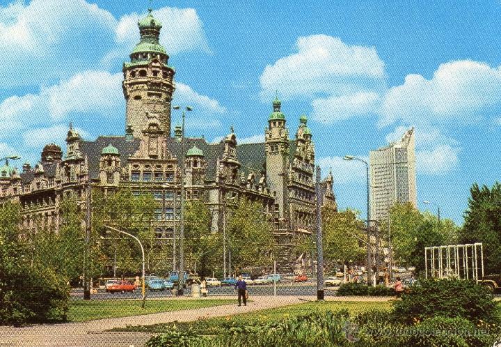 TARJETA POSTAL SIN USAR LEIPZIG DDR (Postales - Postales Extranjero - Europa)