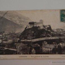 Postales: LOURDES: VUE GÉNÉRALE DE LOURDES. Lote 46674393