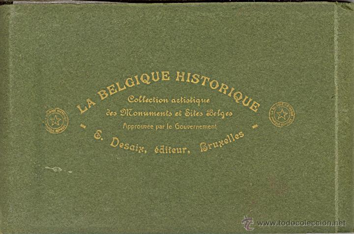Postales: 2 album de La Belgique Historique Published by Desaix, Brussels - Foto 1 - 46797396