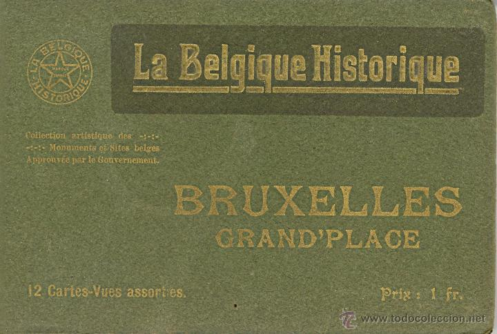 Postales: 2 album de La Belgique Historique Published by Desaix, Brussels - Foto 3 - 46797396