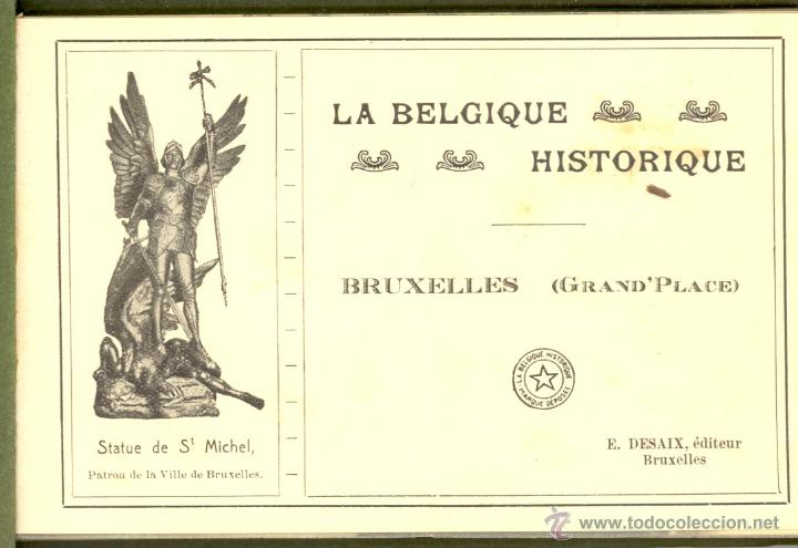 Postales: 2 album de La Belgique Historique Published by Desaix, Brussels - Foto 5 - 46797396