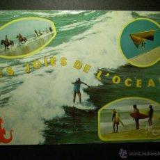 Postales: 9039 FRANCIA FRANCE AQUITAINE POSTCARD POSTAL AÑOS 60/70 CIRCULADA - TENGO MAS POSTALES. Lote 46837952