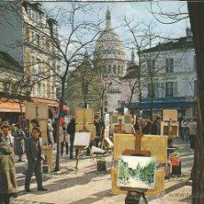 Postales: POSTAL LA PLACE DU TERTRE - PARIS MONTMARTRE - Nº1312. Lote 46904888