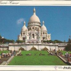 Postales: POSTAL LA BASILIQUE DU SACRÉ-COEUR - PARIS -. Lote 46907165
