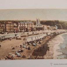 Postales: TEIGNMOUTH: EAST CLIFF FROM THE PIER. Lote 46950043