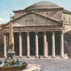 Postales: Nº 20217 POSTAL ROMA ITALIA IL PANTHEON. Lote 46955719