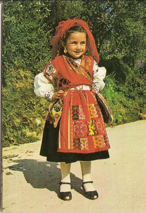 Minho portugal traje regional infantil de vi comprar postales antiguas de europa en - Comprar ropa en portugal ...