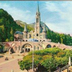 Cartes Postales: LOURDES (FRANCIA), LA BASÍLICA Y LA EXPLANADA - EDITION P.DOUCET Nº 54 - SIN CIRCULAR. Lote 47158729
