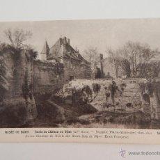 Postales: MUSÉE DE DIJON: ENTRÉE DU CHÂTEAU DE DIJON. Lote 47194665