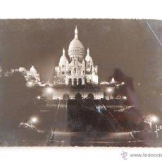 Postales: PARIS: LA BASILIQUE DU SACRÉ-COEUR. Lote 47206848