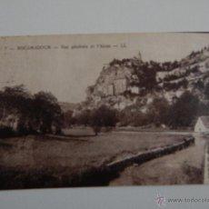 Postales: ROCAMADOUR - VUE GÉNÉRALE ET L´ALZON. Lote 47289582