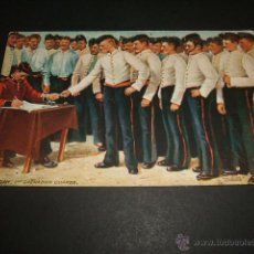 Postales: GRAN BRETAÑA PAY DAY 1ST GRENADIER GUARDS. Lote 47417594