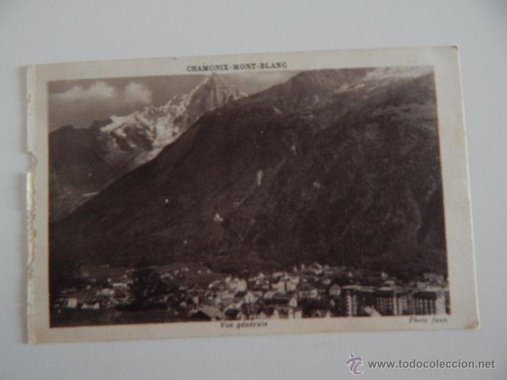 CHAMONIX-MONT-BLANC: VUE GÉNÉRALE (Postales - Postales Extranjero - Europa)