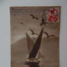 Postales: LA CHAUX-DE-FONDS. LAUSANNE - BARQUE DU LÉMAN - BARCO, CISNES. Lote 47597298