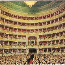 Postales: MILANO (ITALIA), TEATRO ALLA SCALA - EDITZ GIESSE 1031 - SIN CIRCULAR. Lote 47717731