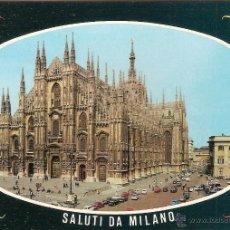 Postales: MILANO (ITALIA), IL DUOMO, LA CATEDRAL - ED. LUIGI SCROCCHI - SIN CIRCULAR. Lote 47718141