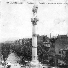 Postales: ANTIGUA POSTAL DE MARSEILLE (FONTAINE). Lote 47731138