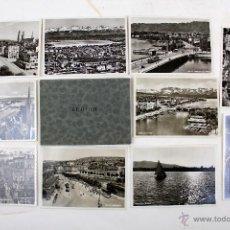 Postales: BP-25. 10 POSTALES FOTOGRAFICAS DE ZURICH. PHOTOGLOB - WEHRLI A.G. ZÜRICH. AÑOS 30. Lote 47850580