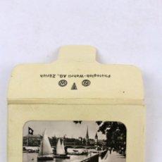 Postales: BP-30. 14 FOTOGRAFIAS ANTIGUAS DE ZURICH. PHOTOGLOB - WEHRLI AG.. Lote 47851971